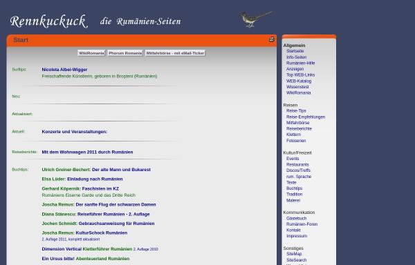 Vorschau von www.rennkuckuck.de, Rennkuckuck