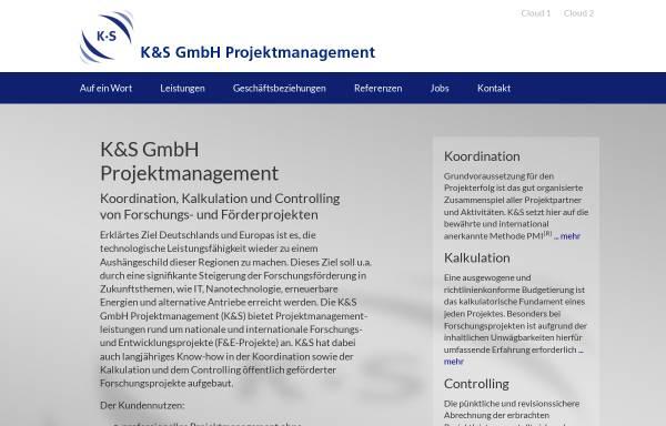 Vorschau von www.ks-pm.de, K&S GmbH