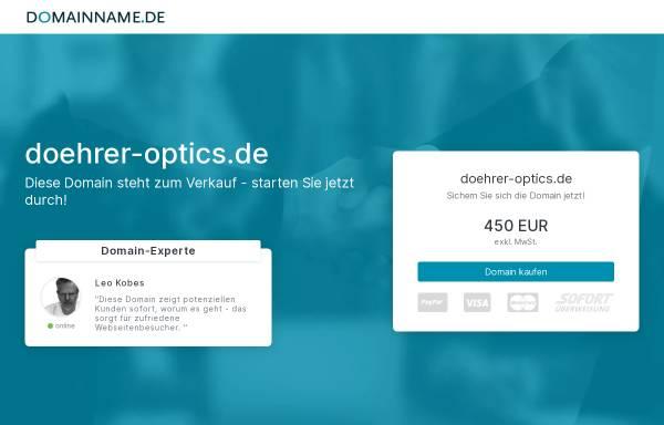 Vorschau von www.doehrer.com, Döhrer Elektrooptik GmbH