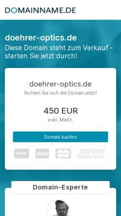 Vorschau der mobilen Webseite www.doehrer.com, Döhrer Elektrooptik GmbH