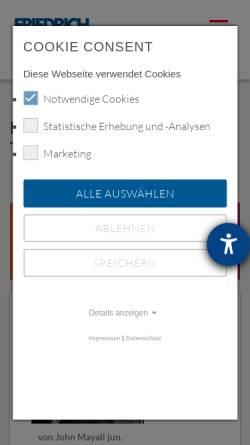 Vorschau der mobilen Webseite www.fes.de, Karl-Marx-Haus, Trier