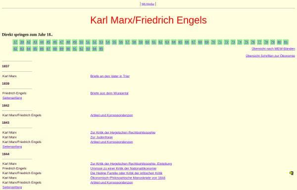 Vorschau von www.mlwerke.de, Stimmen der Proletarischen Revolution - Karl Marx und Friedrich Engels