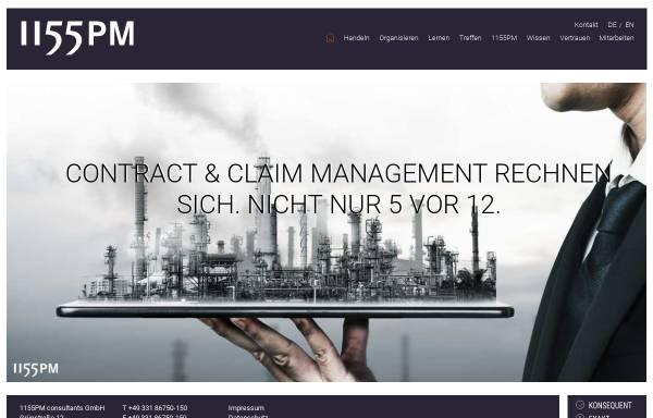 Vorschau von www.1155pm.de, 1155PM consultants GmbH