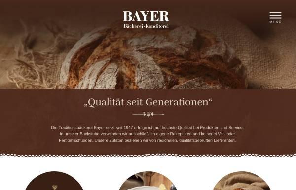 Vorschau von www.bayers.de, Bäckerei Bayer