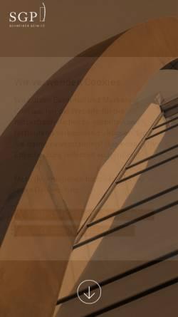 Vorschau der mobilen Webseite www.skp-de.com, SKP Schneider, Geiwitz und Partner