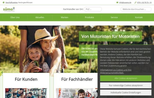 Vorschau von www.suemo.de, Süddeutsche Motoristen-Vereinigung e. G.