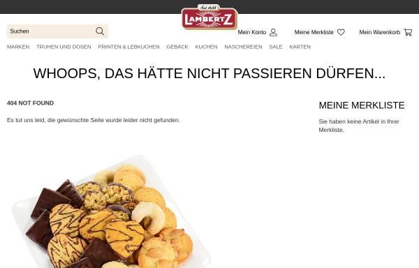 Vorschau von www.weiss-lebkuchen.de, Weiss, Max GmbH & Co. KG Lebkuchenfabrik