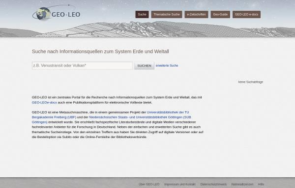 Vorschau von geo-leo.de, Geo-Leo