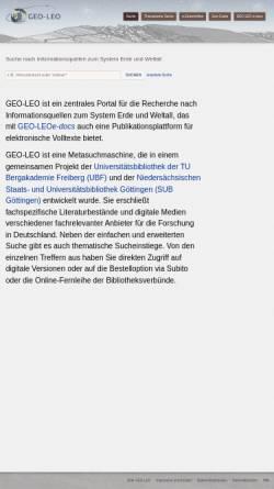 Vorschau der mobilen Webseite geo-leo.de, Geo-Leo