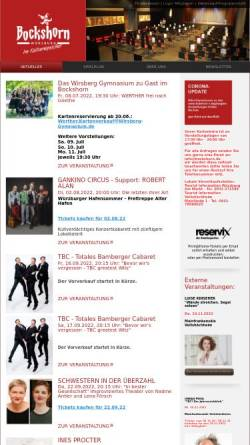 Vorschau der mobilen Webseite www.bockshorn.de, Bockshorn