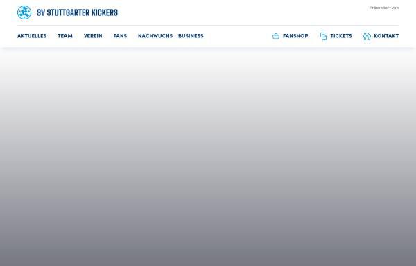 Vorschau von www.stuttgarter-kickers.de, SV Stuttgarter Kickers