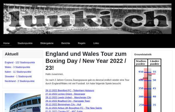 Vorschau von www.luuki.ch, Luuki.ch - Das Internetportal für Basler Groundhopper
