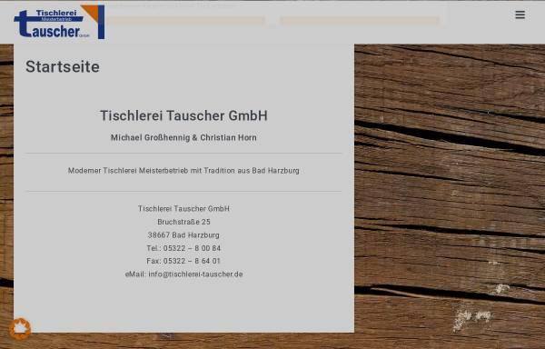 Vorschau von www.tischlerei-tauscher.de, Tischlerei Tauscher GbR