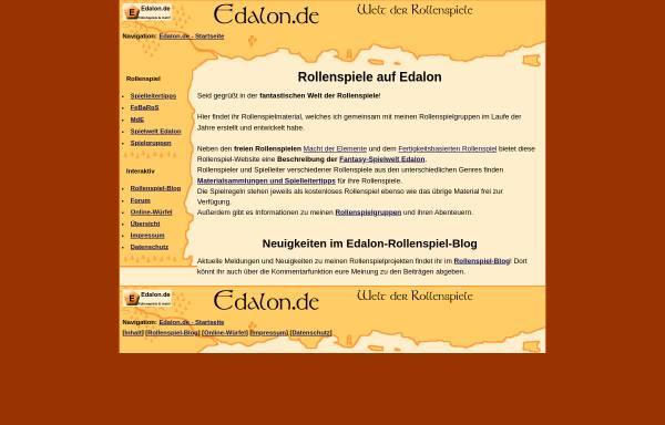 Vorschau von www.edalon.de, Edalon