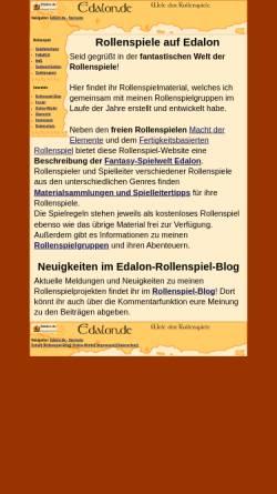 Vorschau der mobilen Webseite www.edalon.de, Edalon