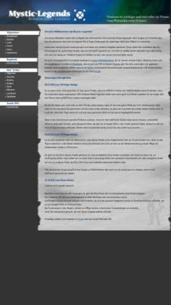 Vorschau der mobilen Webseite www.mystic-legends.de, Mystic-Legends
