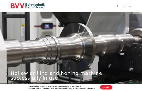 Vorschau von www.bt-be.de, Bahntechnik Brand-Erbisdorf GmbH