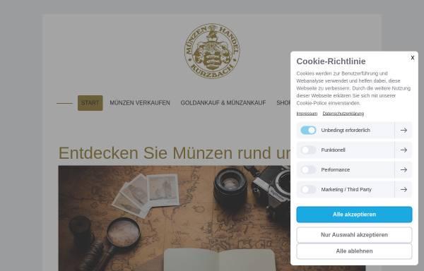 Vorschau von www.muenzen-kurzbach.de, Ralf N. Kurzbach Münzhandel