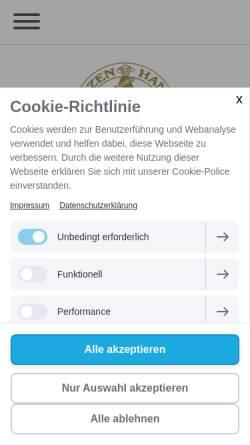 Vorschau der mobilen Webseite www.muenzen-kurzbach.de, Ralf N. Kurzbach Münzhandel