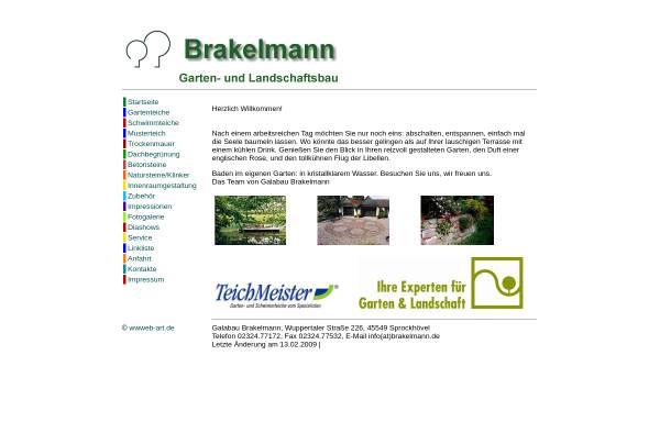 Vorschau von www.brakelmann.de, Brakelmann Garten- und Landschaftsbau