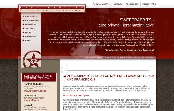 Vorschau von www.sweetrabbits.de, Sweetrabbits.de