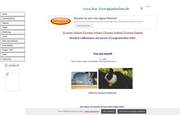 Vorschau von zwerghase1.beepworld.de, Zwergkaninchen