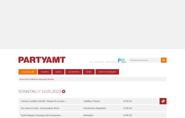 Vorschau von www.partyamt.de, Partyamt Darmstadt