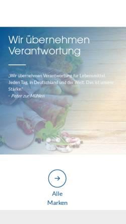 Vorschau der mobilen Webseite www.astro-verl.de, Fleischwarenfabrik August Strothlücke GmbH & Co. KG