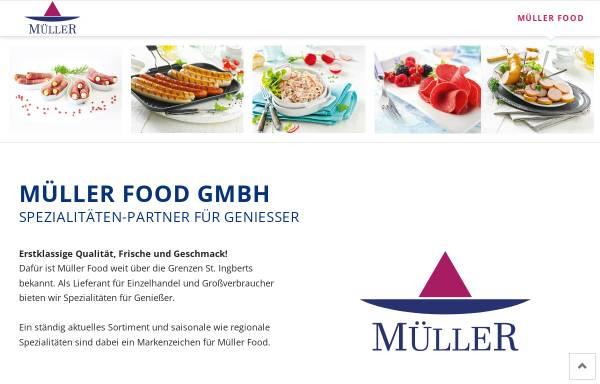 Vorschau von www.mueller-fleischwaren.de, Müller Fleischwaren GmbH
