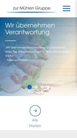 Vorschau der mobilen Webseite www.naumburger.de, Wethauer u. Naumburger Fleischwaren GmbH & Co. KG