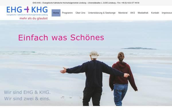 Vorschau von www.ehg-khg.de, Lüneburg - EHG+KHG