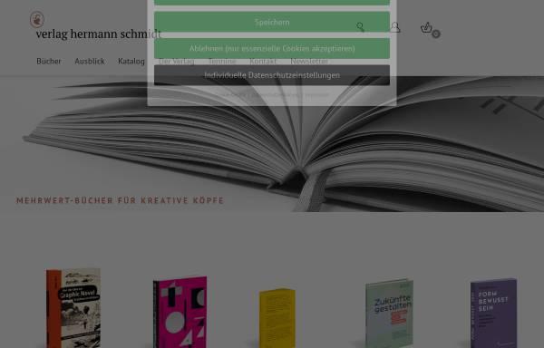 Vorschau von www.typografie.de, Verlag Hermann Schmidt