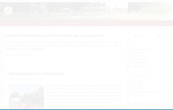 Vorschau von www.atg-aachen.de, Aachener Turn-Gemeinde 1862 e.V.