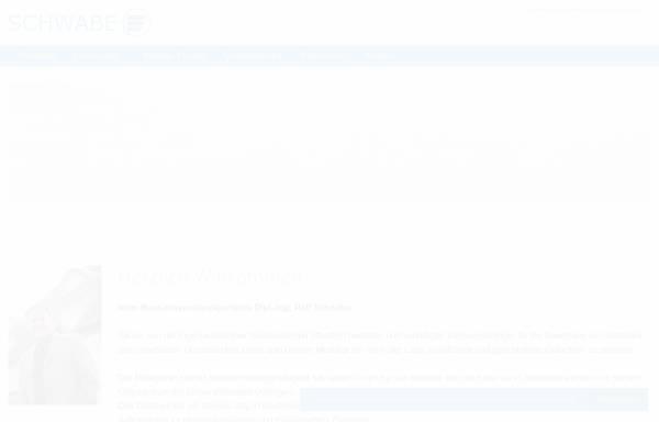 Vorschau von www.ib-schwabe.de, Ingenieurbüro Ralf Schwabe
