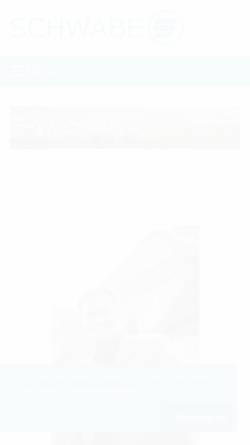 Vorschau der mobilen Webseite www.ib-schwabe.de, Ingenieurbüro Ralf Schwabe