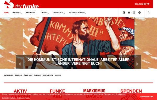 Vorschau von www.derfunke.at, Der Funke