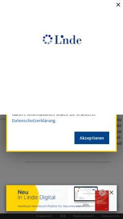 Vorschau der mobilen Webseite www.lindeonline.at, Steuer- und WirtschaftsKartei