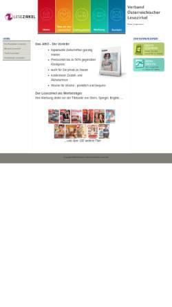 Vorschau der mobilen Webseite www.lesezirkel.at, Verband österreichischer Lesezirkel