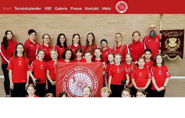 Vorschau von www.freiebahn.de, Kunstradsport in Bergheim (NRW)