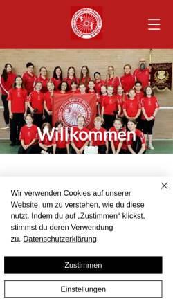 Vorschau der mobilen Webseite www.freiebahn.de, Kunstradsport in Bergheim (NRW)
