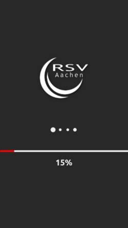 Vorschau der mobilen Webseite www.rsv-aachen.de, RSV Aachen — Radsport in Aachen und der Euregio