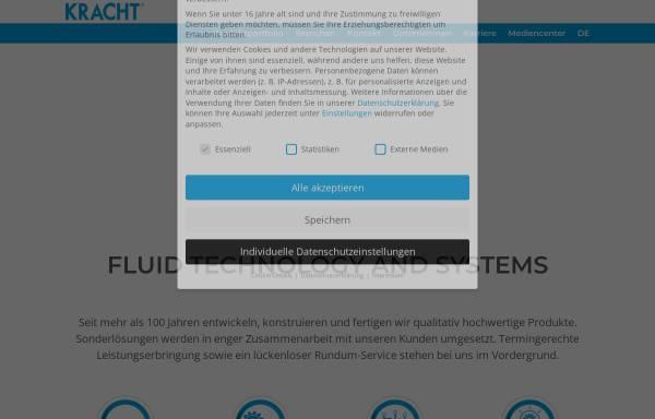 Vorschau von www.kracht.eu, Kracht GmbH