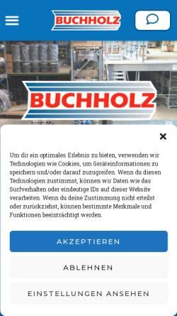 Vorschau der mobilen Webseite www.buchholz-pumpen.de, Buchholz Maschinen und Pumpen GmbH