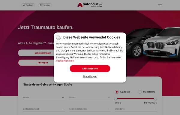 Vorschau von www.autohaus24.de, Autohaus24.de