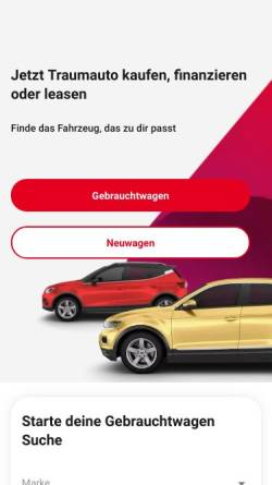Vorschau der mobilen Webseite www.autohaus24.de, Autohaus24.de