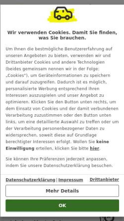 4fc602f880d5e1 ... Vorschau der mobilen Webseite www.autoscout24.de