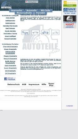 Vorschau der mobilen Webseite www.autoteileplus.de, Autoteile plus GmbH
