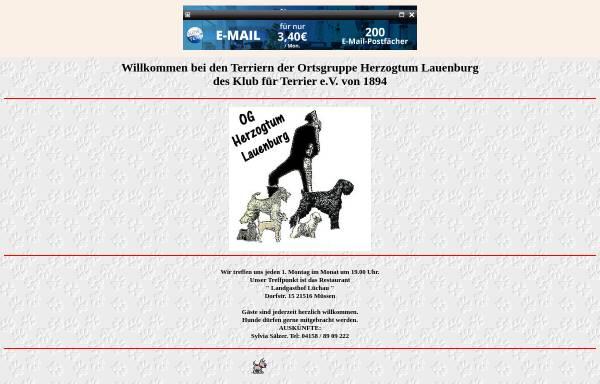 Vorschau von oglauenburg.schwarzeterrier.de, OG Herzogtum Lauenburg
