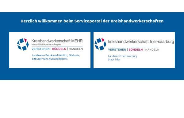 Vorschau von www.das-handwerk.de, Kreishandwerkerschaften MEHR-Trier-Saarburg