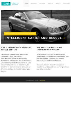 Vorschau der mobilen Webseite www.icar.de, SL-IT, Michael Siraky